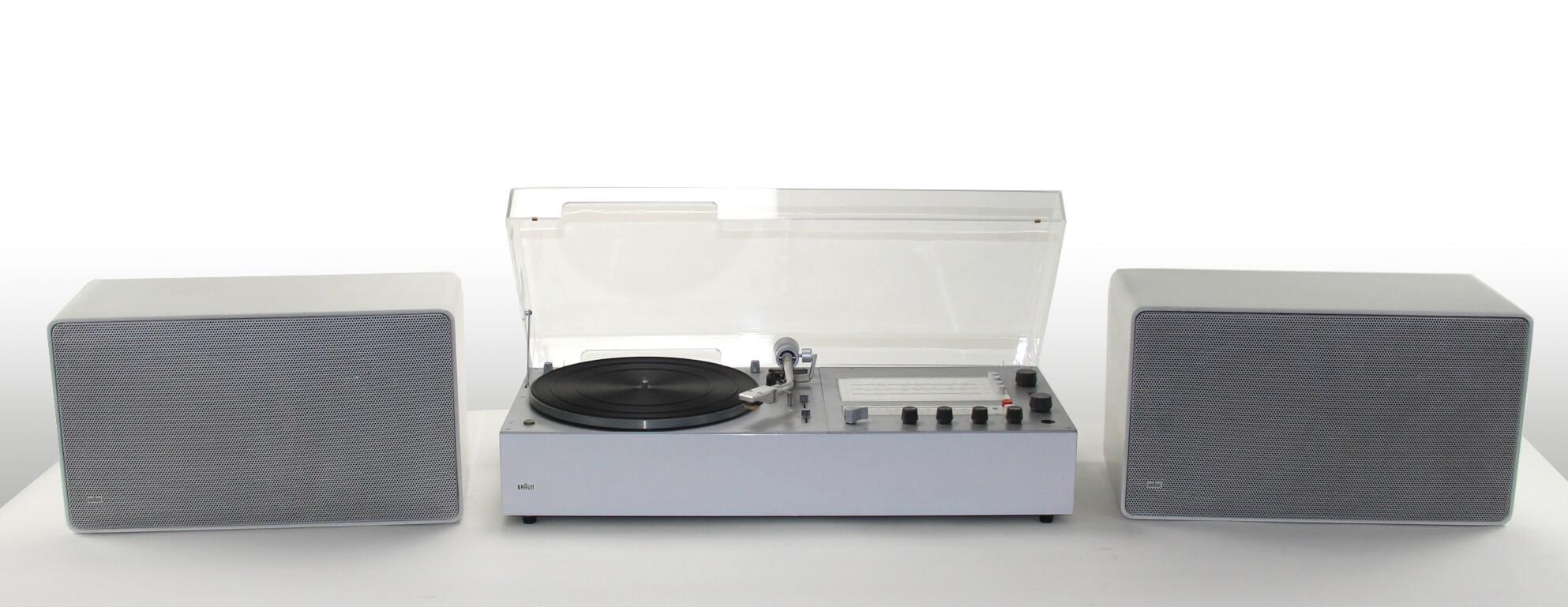 braun audio 310 white & L 625 white