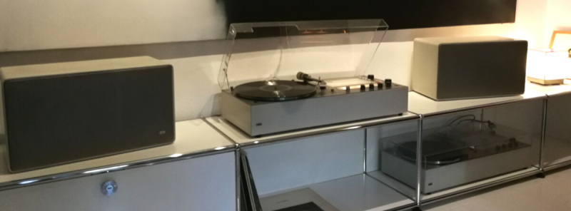 Braun Audio 310 & L625 on USM Mediaboard