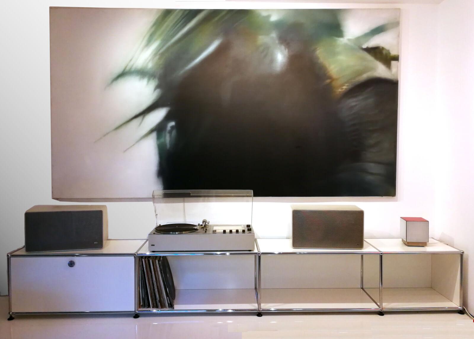 Braun Audio 310 & L625 & USM Mediaboard & Artwork Kaluza