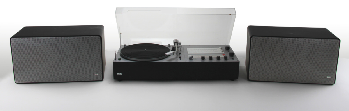 braun audio 310 anthracite & L 625 black