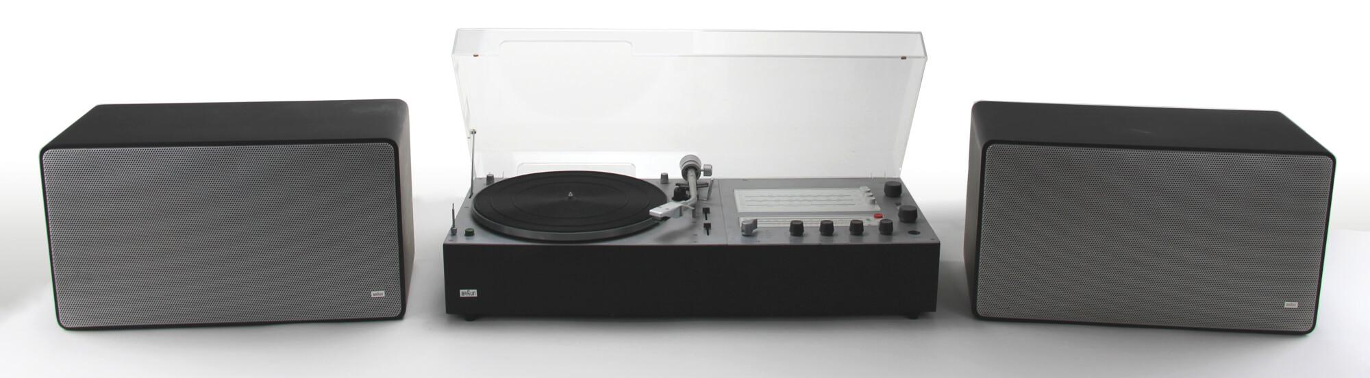braun audio 310 anthrazit & L 625