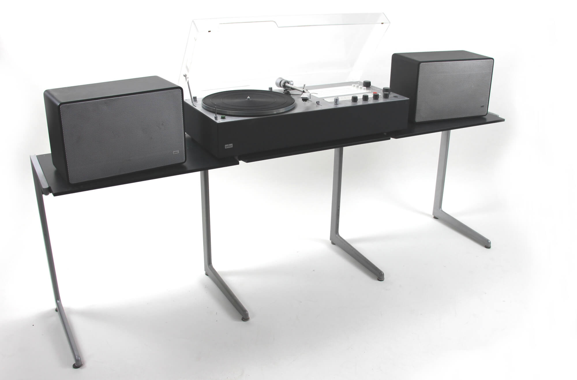 Kangaroo dreifach Modul mit braun audio 310 anthrazit und L 425 black