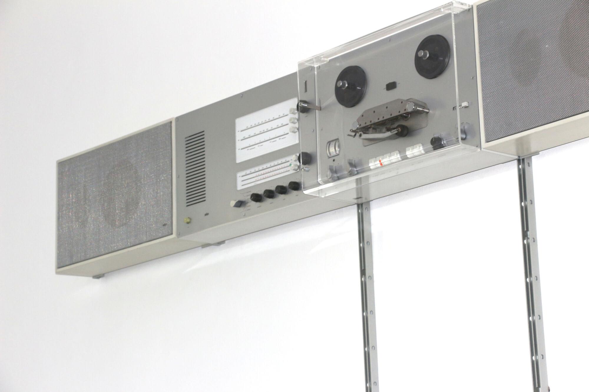braun wandanlage wall unit 1965 Dieter Rams