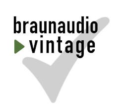 braunaudio vintage certification
